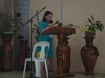 Sister Merlinda, the President