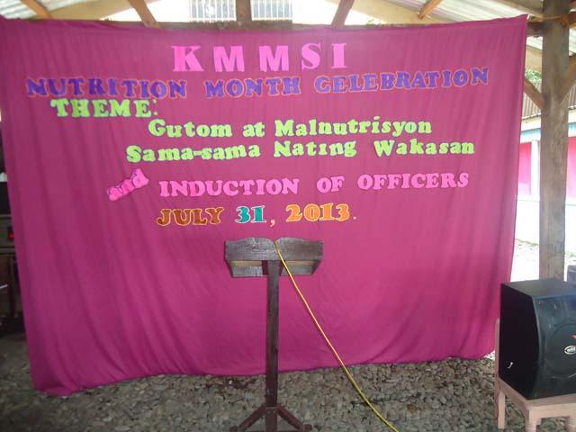 2013 July Malnutrition Program 1